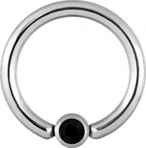 Clip-in Kula - Svart Kristall