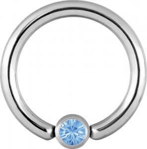 Clip-in Kula - Ljusblå Kristall
