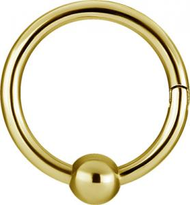 Guldring - Ball Closure Ring (BCR) - Clicker Ring - 3 mm Kula