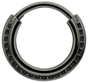 Septum Clicker - Black Steel