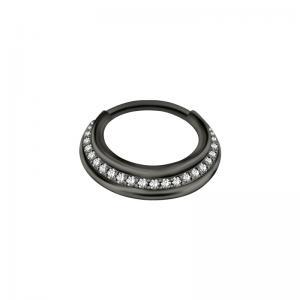 Septum Clicker - Black Steel
