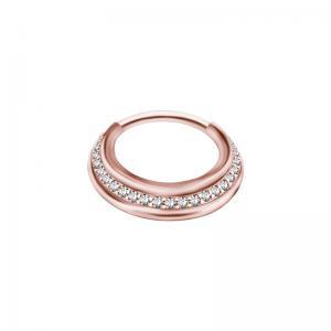 Septumsmycke - Ring till piercing - Roséguld