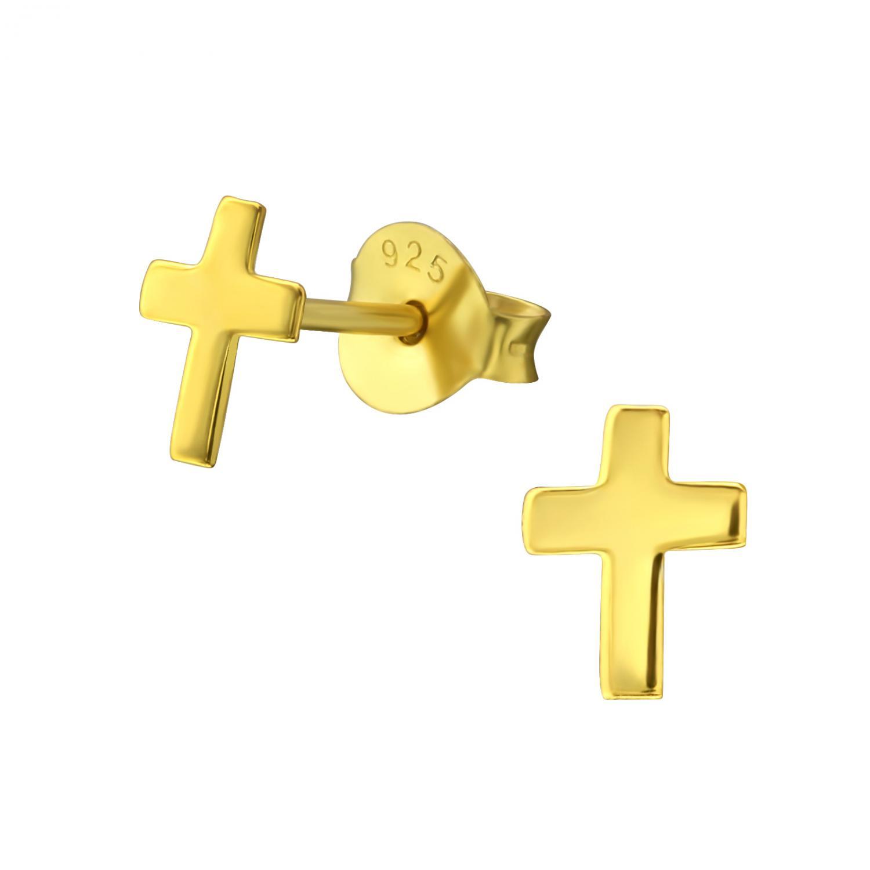 örhängen med kors