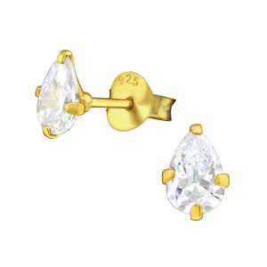 Kristallörhängen - Guld