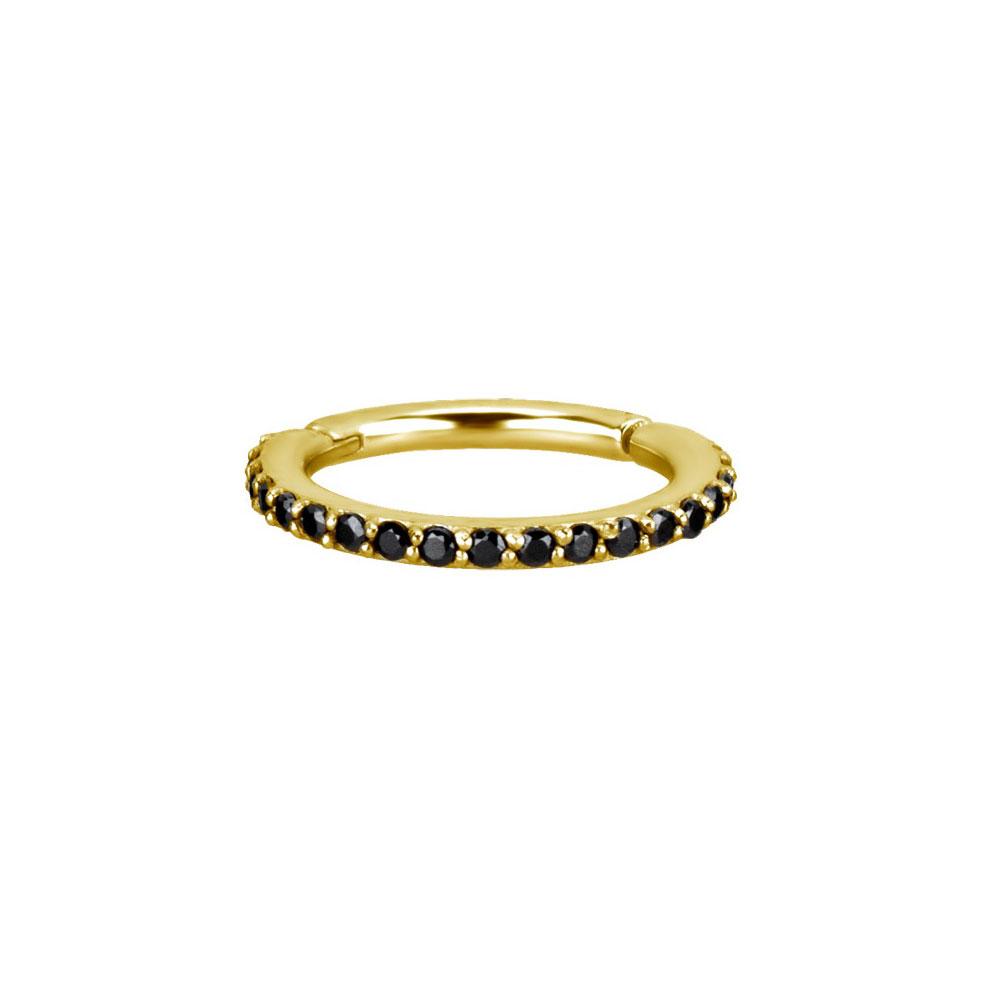 Clicker Ring - Golden Steel