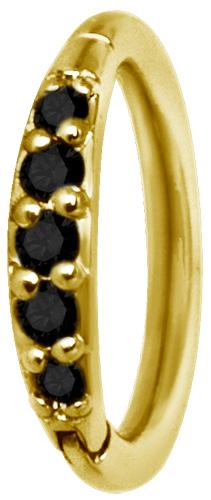 Clicker Ring, Golden Steel