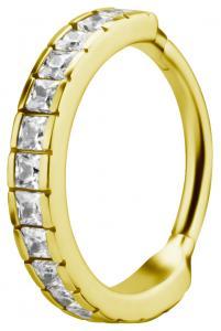 Clicker Ring - 24k Guld Pvd