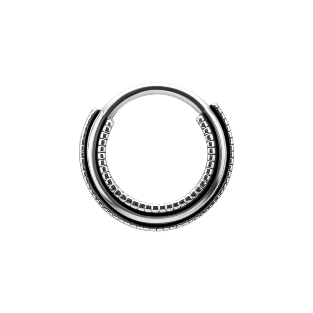Clicker ring - Piercingsmycke i kirurgiskt stål