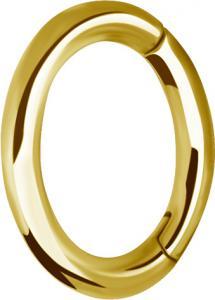 Rook Clicker - Guldpläterad Ring