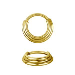 Septumsmycke - 24k-guldplätering - Kirurgiskt stål