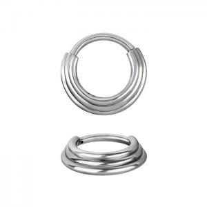 Septum Clicker, 3-ring - kirurgiskt stål