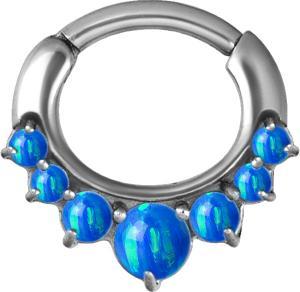 Septum Clicker, Blå Opal