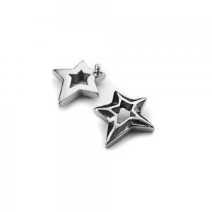 Stjärna - Piercingsmycke - Topp i kirurgiskt stål