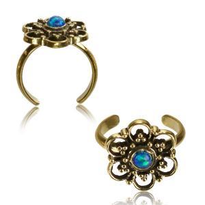Tåring, Bohemian - Blomma med Blå Opalit