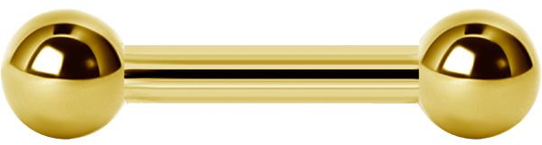 Barbell Stav - Guld PVD