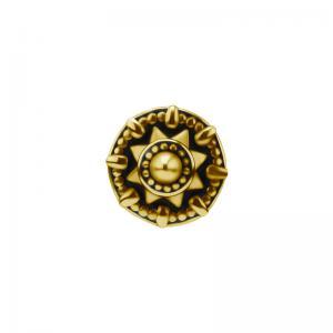 Mandala - Piercingsmycke - 24k-guldplätering