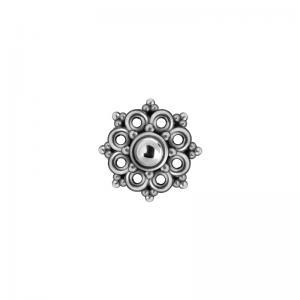 Mandala topp till piercing i stål