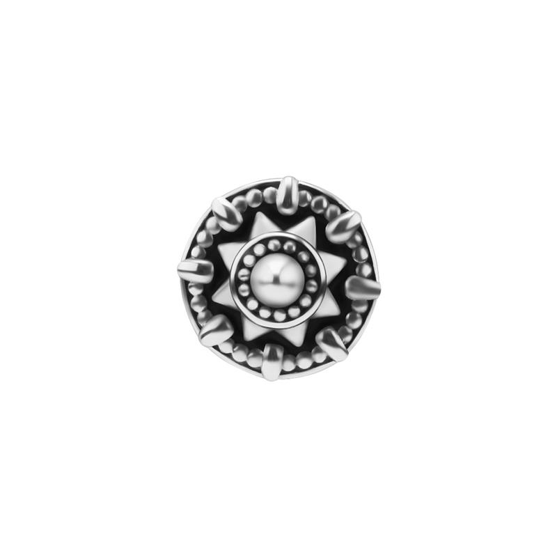 Mandala - Piercingsmycke - Topp i kirurgiskt stål