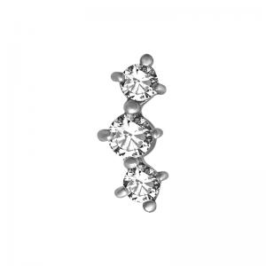 Tre kristaller - Topp till piercing