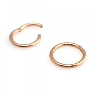 Segment Ring Clicker - Rosé Guld