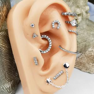 olika piercingar i örat