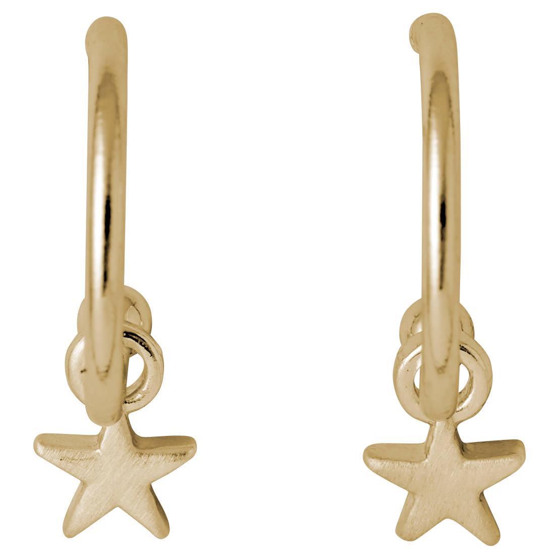 Pilgrim - Ava- Örhängen med Stjärnor
