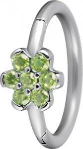 Clicker Ring Blomma, Grön