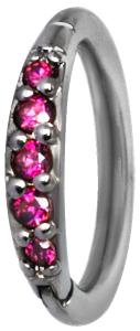 Clicker Ring, Ruby