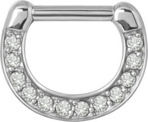 Septum Clicker, White Cz