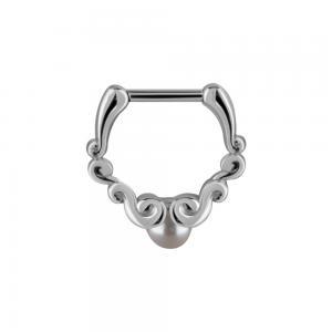 Septum Clicker, Ornament Pearl