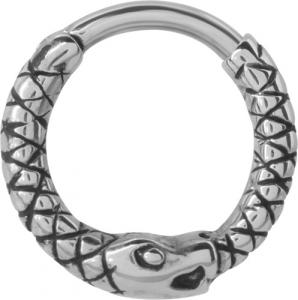 Septum Clicker, Snake Ring