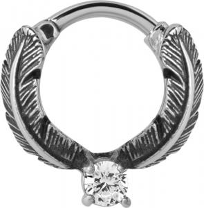 Septum Clicker, Feather ring