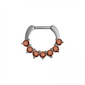 Septum Clicker Orange kristall