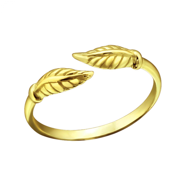Tåring - Guldpläterat Äkta silver