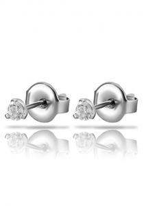 Stiftörhängen - Kristall - Kirurgiskt stål