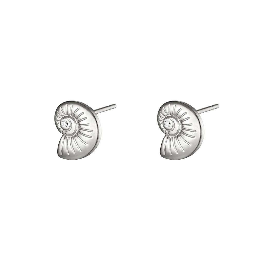 Örhängen - Snäcka - Studs i Kirurgiskt stål
