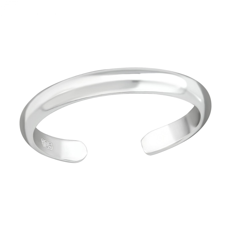 Tåring - enkel ring - Äkta silver