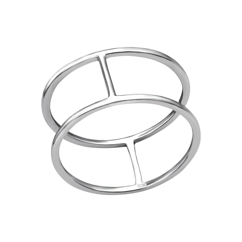 äkta silver ring