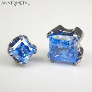 Princess Cut, Arctic Blue