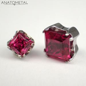 Princess Cut, Ruby