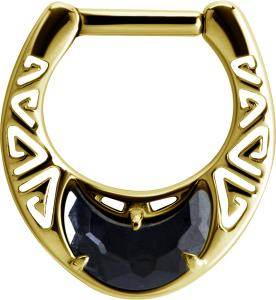 Septum Clicker - Black Crystal Moon