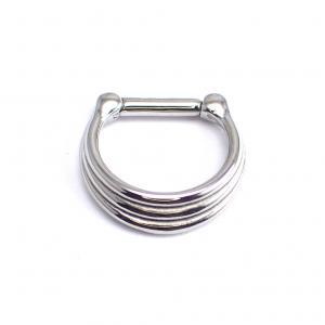 Septum Clicker, 3-ring Steel