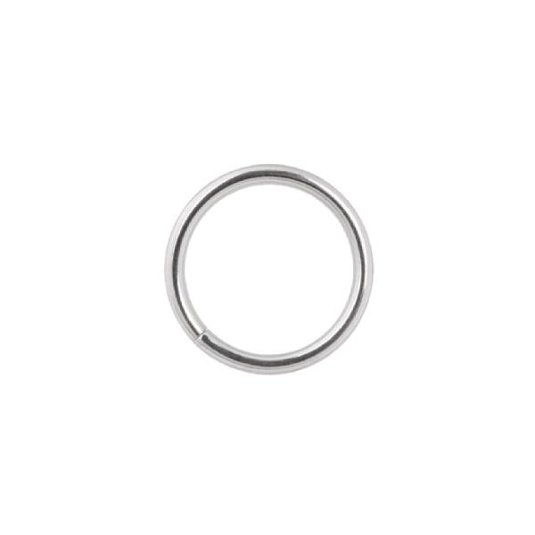Tunn silverring -  Seamless ring i Kirurgiskt stål