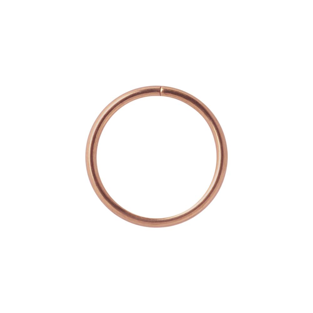 Tunn seamless ring -  Roséguld - Ring till Piercing