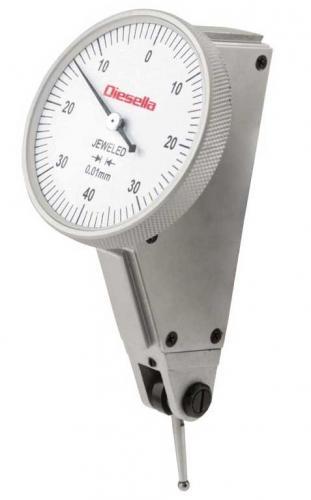 Vippindikator 0,8 mm/0,01 mm Diesella vinklad