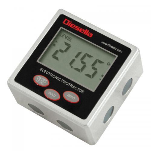 Digital vinkelmätare/vattenpass IP54 Diesella