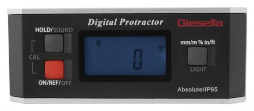 Digital vinkelmätare/vattenpass IP65 Diesella