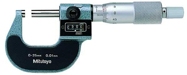 Mikrometer 0-25 mm Mitutoyo 0,01 mm