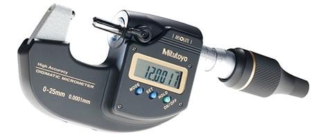 Digital mikrometer 0-25 mm Mitutoyo Högprecision