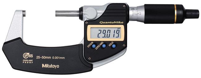 Digital mikrometer 25-50 mm Mitutoyo QuantuMike